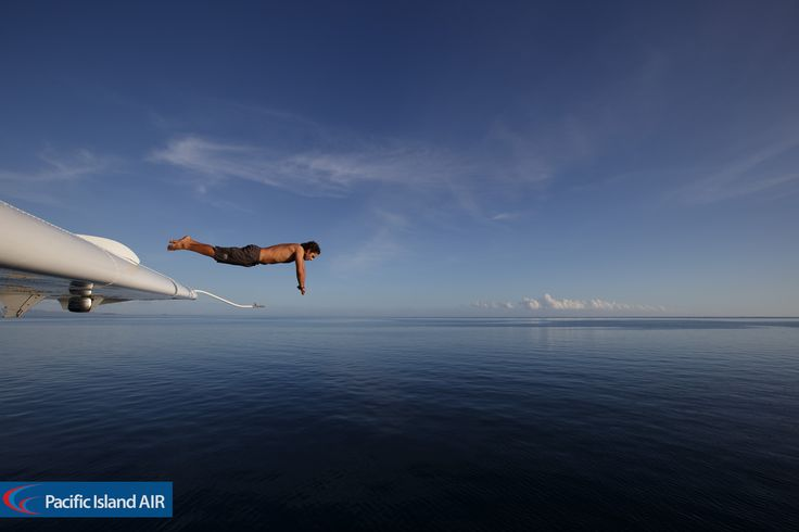 Wing dive ...  #henspartyfiji #tourismfiji #fijifinds #fiji