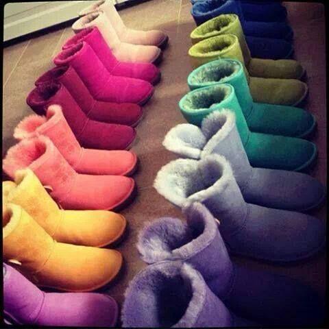 Uggs :D Cute colours (Y)