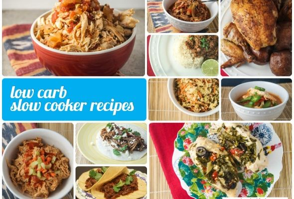 Sunday Slow Cooker:  Low Carb Crockpot Recipes