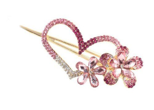 Ibeauty(TM) Fashion Love heart Jewelry Crystal Hair Clips... http://www.amazon.com/dp/B00DSLFNQ4/ref=cm_sw_r_pi_dp_U.Hmxb05Y63SG