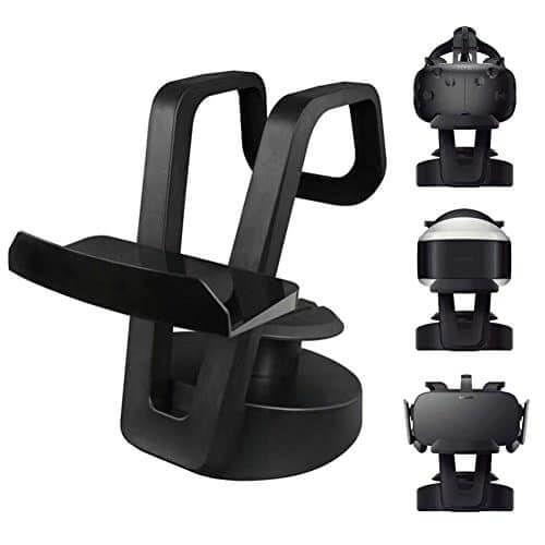 Soporte Para Gafas VR Htc Vive, Play Station y Oculus Rift - https://www.vivevirtual.es/producto/soporte-para-gafas-vr-htc-vive-play-station-y-oculus-rift/ Fantástico soporte organizador para Gafas Realidad Virtual para Htc Vive, PS4 VR y Oculus Rift. Con este magnífico soporte podrás tener tu equipo VR totalmente organizado y protegido. De esta manera podrás evitar golpes y arañazos de tus gafas VR. Si te incomoda el tener tu equipo VR, que tiene u...