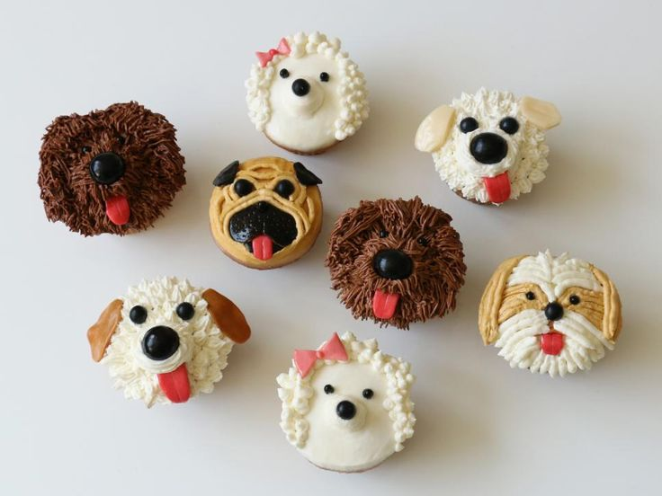 Learn how to decorate cupcakes to look like pugs, poodles and more with this step-by-step guide.