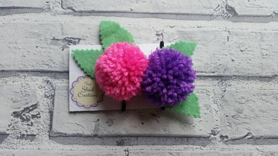 Check out this item in my Etsy shop https://www.etsy.com/uk/listing/512910608/pompom-hair-bobbles-2-x-pony-tail