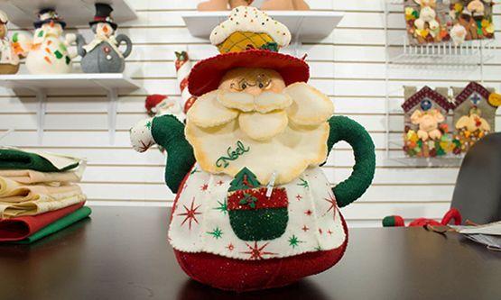 cafeteras navideñas en paño lency - Buscar con Google