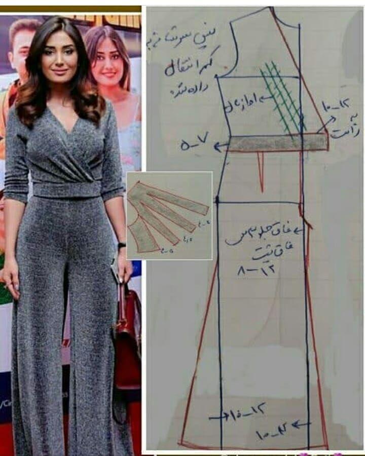 یه سرهمی خوشگل فروش الگوهای پیشرفته خیاطی با تمامی متدهای موجود در بازار بدون ل Dress Sewing Patterns Fashion Sewing Pattern Clothing Patterns