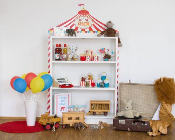 """Wandtattoo Kinderzimmer Ikea ~ Über 1 000 Ideen zu """"Zirkus Kinderzimmer auf Pinterest  Babyzimmer"""