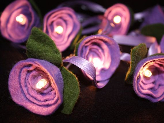 Rose Fairy Lights. Decorative Fairy Lights. Living room decor. New home present