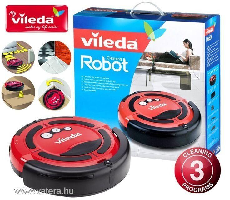 Vileda Celaning takarító robot, robotporszívó, 1év - Vatera.hu
