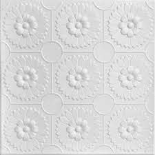 - Goes Over Popcorn And Most Ceiling Surfaces - Styrofoam - 20x20 (2.7 sqft) - Adds Insulation - Easy InstallCeiling Outpost - Light Weight - No Expensive Tools Needed - Paintable With Any Water-Based