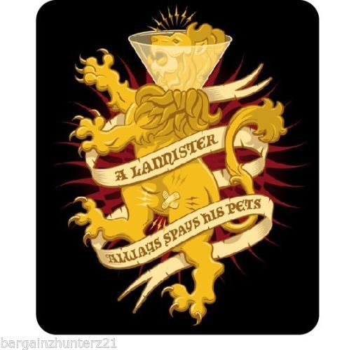 Game of Thrones Lannister always spays his pets by DecalHunterz, $5.00