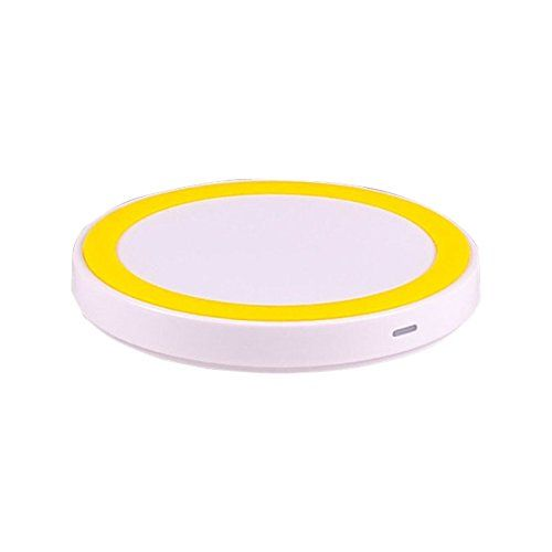 #Qjoy Qi Wireless Charger Charging Pad Mat for Samsung Galaxy S8 Google Nexus 4 5 6 7 Nokia