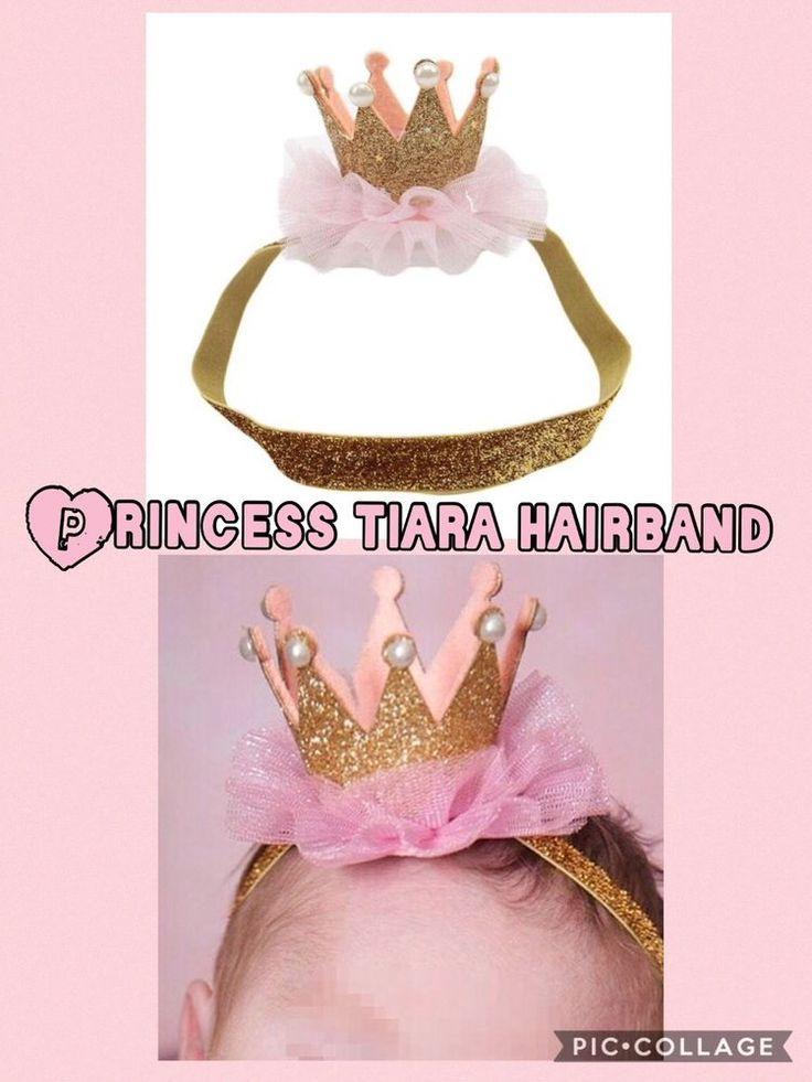 Tiara Crown Christmas photo props cake smash 1st Birthday Princess head/hairband  | eBay