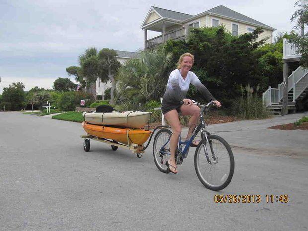 Picture of Bike Kayak Trailer