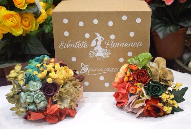 Ramilletes de flores de flamenca