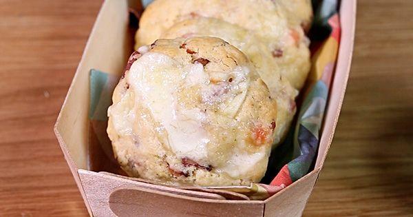 Les cookies salés au Reblochon bacon : cette version salée de l'une des pâtisseries les plus gourmandes va vous faire fondre !