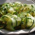 Snel & lekker: Frisse komkommersalade met dille - Onze Franse keuken