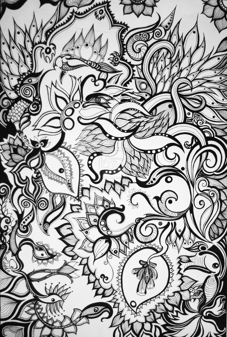 Lotus designs coloring book - The Rise Of Lotus By Josephinevor On Deviantart