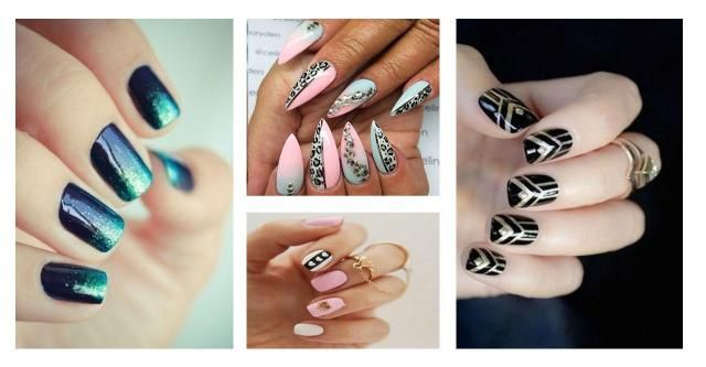 Nie każda kobieta może pozwolić sobie na długie paznokcie. Nie znaczy to, że nie może czuć się kobieco  w swoich pazurkach! #krótkie #paznokcie #kolorowe #czarne #cieliste #delikatne #beżowe #nude #geometryczne #wzory #efekt