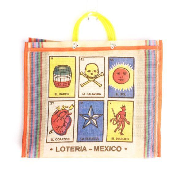 Market Bag - Loteria Yellow