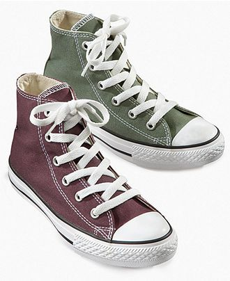 Converse Kids Shoes, Boys and Girls Chuck Taylor All Star Hi-Top Sneakers - Kids - Macy's