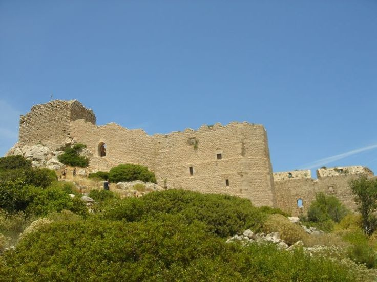 Venetian castle, Kritinia, Rhodes, Greece