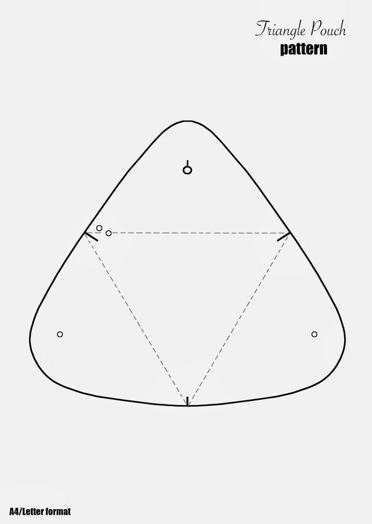 [DIY] Dreieck Ledertasche | FashionRolla DIY, Mode und Lifestyle Blog von …