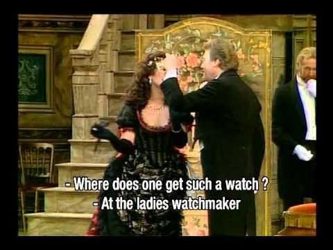 Johann Strauss - Die Fledermaus - Kiri te Kanawa - Herman Prey (Placido Domingo)
