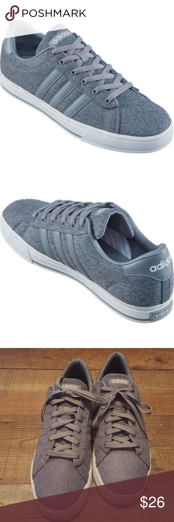 Adidas Neo Vulc in gray/grey (mens 11.5) Adidas vulc shoes in excellent condition!  Size 11.5 mens. adidas Shoes Sneakers
