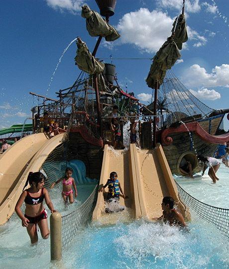 Waterpark fun in the sun- where to go in DFW