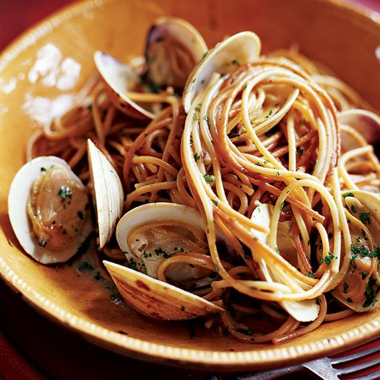 Toasted Spaghetti with Clams | Food & Wine