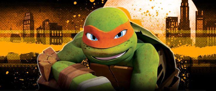 TMNT Michelangelo Biography | TeenageMutantNinjaTurtles.com