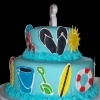 water party cake