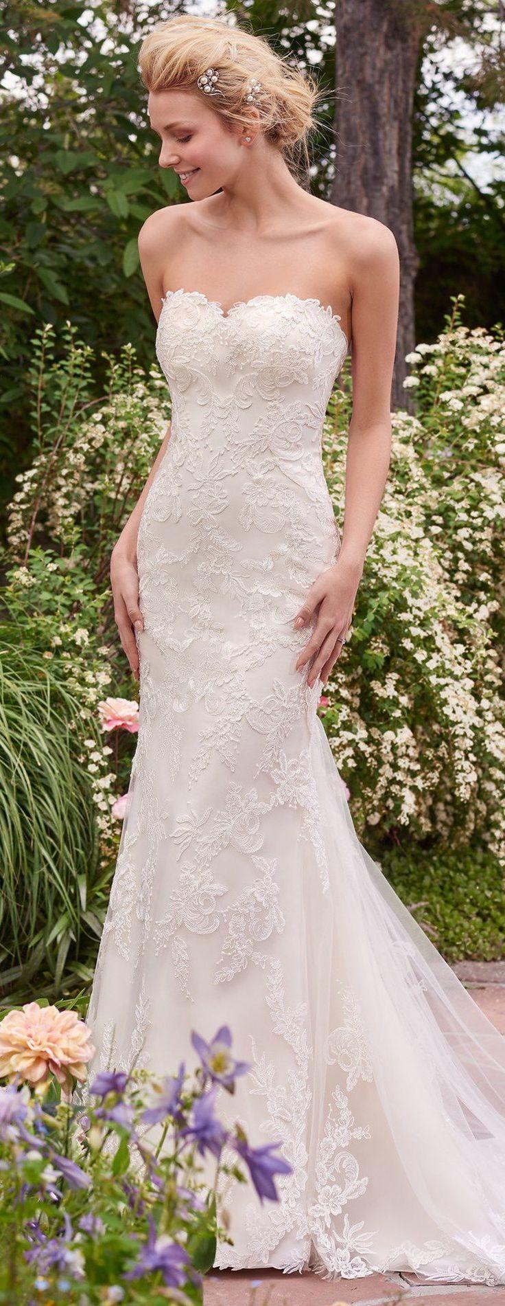 Wedding Dress by Rebecca Ingram - Sandra | Less than $1,000 | #rebeccaingram #rebeccabride