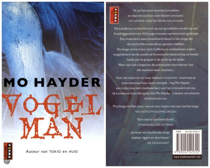 Boekrecensie #4 / Vogelman - Mo Hayder