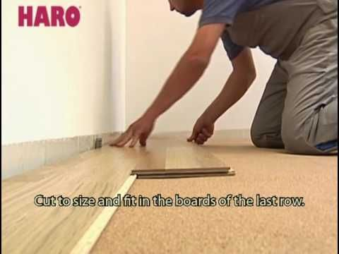 Laying Instructions for Wood Flooring with Lock Connect