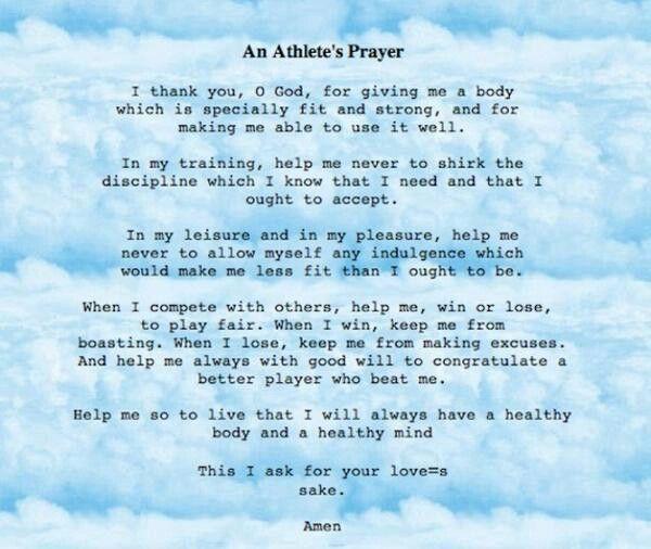 sample prayer for an event