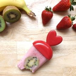 Fruity and Greek yogurt ice lollies recipe