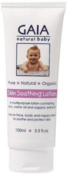 Skin Soothing Lotion - Denna mångsidiga lotion kan användas för nyfödda, spädbarn och småbarn från topp till tå för att lugna och svalka huden.