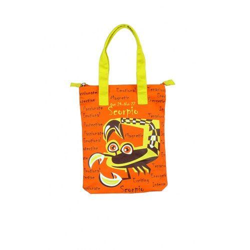 Scorpio Canvas Orange Bag