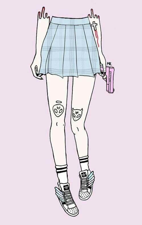 Imagen de pink, gun, and grunge                              …