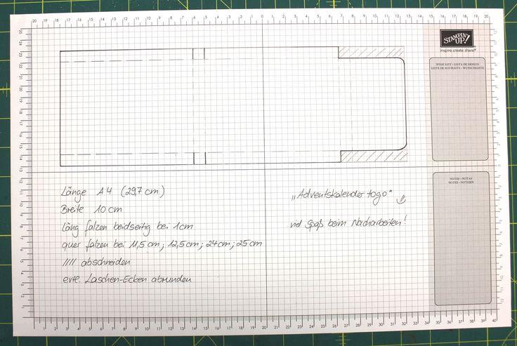 """""""Adventskalender to go"""" - Stampin´ Up! Artisan DesignTeam BlogHop 13.11.2014 - Verpackung mit Prägefolder """"Glückssterne"""" und Juteband Detailbild06"""