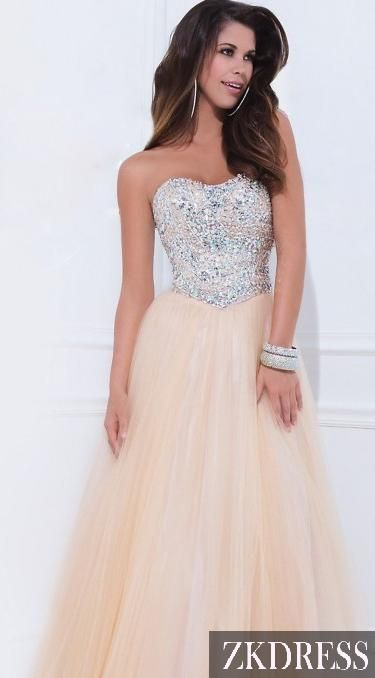 Not necessarily for this dress, but anyway, I love where the waistline falls and the poofy bottom