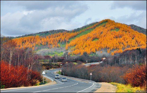 Осень на Сахалине