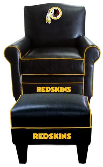 Root for your favorite team in style! Coordinate with matching Washington Redskins Furniture