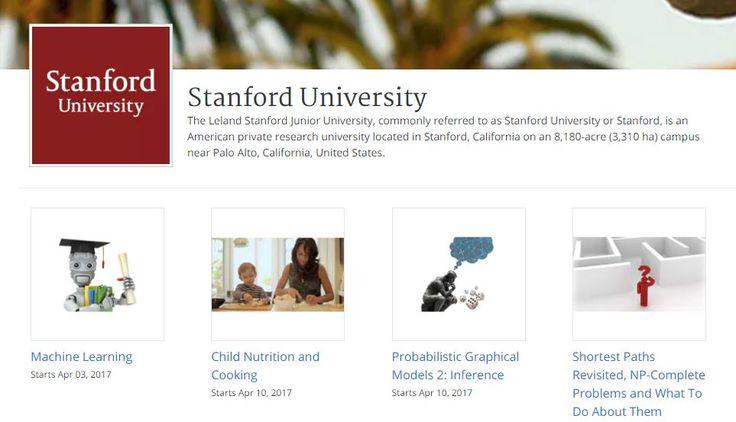 #MOOC #cursos Universidad de Stanford – 3 cursos online gratuitos, en español, que empiezan en abril