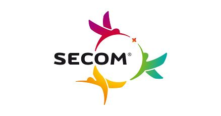 The Colibri Secom logo designed by Brandient