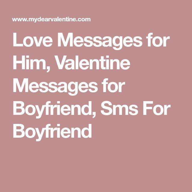 The 25 best Valentine messages for boyfriend ideas on Pinterest
