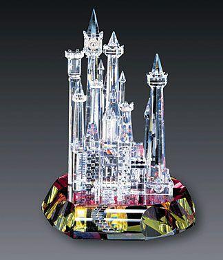 el castillo de cristal mundial disney Cenicienta