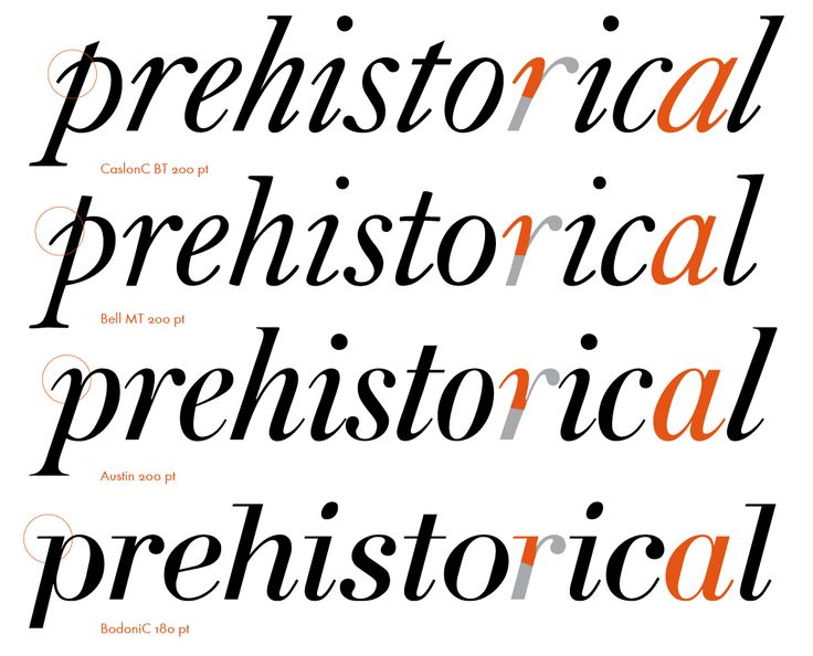 While Austin roman balance between two styles, Austin italic obviously close to the italics of baroque Antiqua.