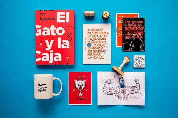 Editorial | Anuario El Gato y la Caja on Behance
